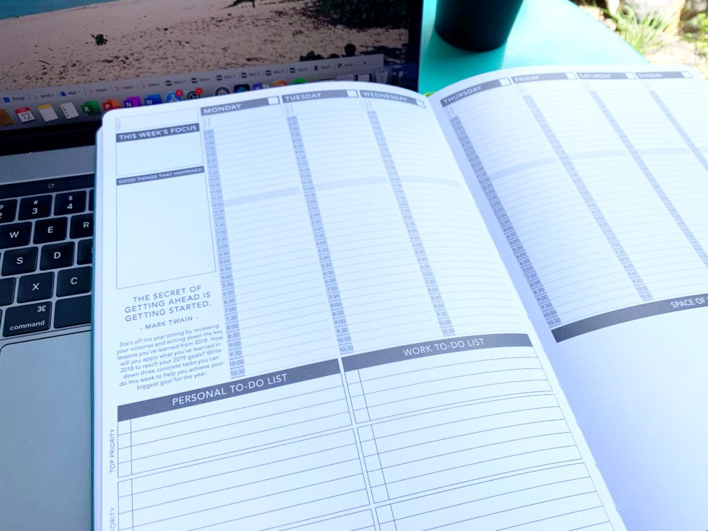 PASSION PLANNER TEMPLATE review