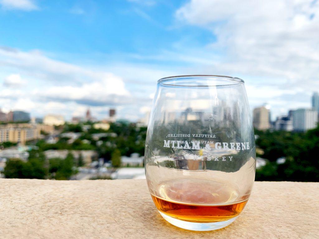 Milan and Greene Bourbon whiskey
