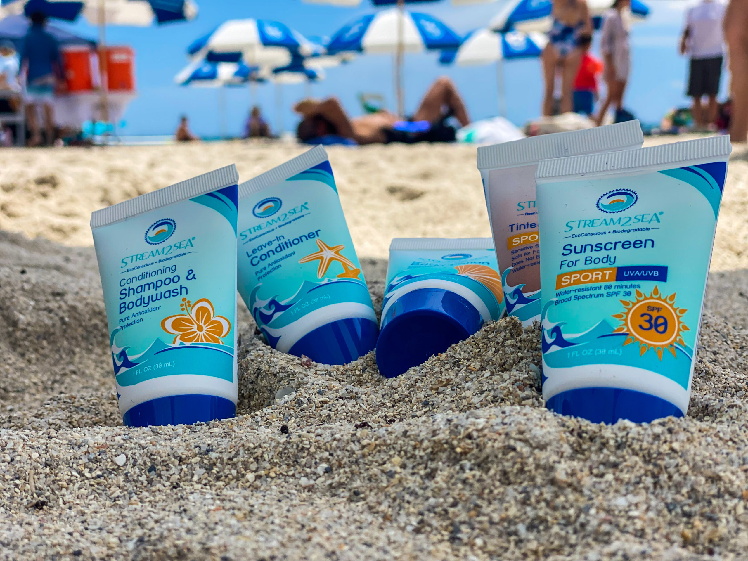 stream2sea mineral-based reef safe sunscreen.